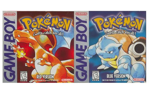 Rote und Blaue Edition Pokemon